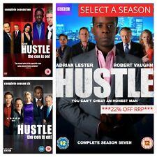 Hustle DVD Box Set Series 1 2 3 4 5 6 7 8 Complete 1-8 Collection Season Sets