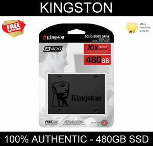Kingston SSD A400 480 GB Solid-State-Drive - 2.5 inch, SATA 3