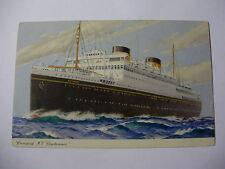 E021 - 1954 CUNARD LINE - MV BRITANNIC - Postcard