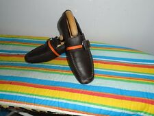 MEN'S FRANK WRIGHT BROWN  LEATHER SLIP ONS SHOES SIZE UK 8 IMMACULATE CONDITION