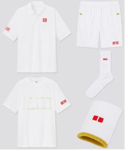 UNIQLO Kei Nishikori NK Dry-EX 2021 Wimbledon Tennis Gamewear Collection New
