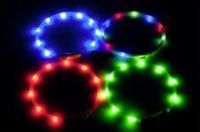 Karlie Leuchthalsband Visio Light blau 45cm Hundehalsband Leuchtschlauch