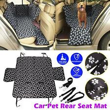 Car Rear Back Seat Cover Pet Dog Cat Auto Protector Waterproof Hammock Mat