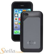 Dual Sim Case Cover For iPhone 4 & 4S - Micro & Standard Sim Card Compatible