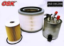NISSAN PATROL GU 3L TURBO DIESEL GUVI ZD30 OIL AIR FUEL FILTER SERVICE KIT 07-ON
