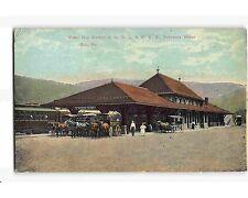 St1393: D L & W Rr Station Delaware Water Gap Pa (Vintage postcard)
