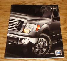 Original 2011 Ford F-150 Truck Sales Brochure 11 XL STX SVT Raptor XLT FX2 FX4