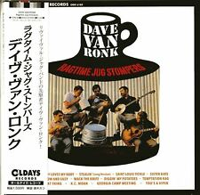 DAVE VAN RONK-RAGTIME JUG STOMPERS-JAPAN MINI LP CD BONUS TRACK C94