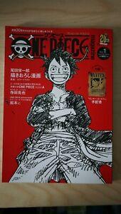 20th ANNIVERSARY VOL.1 Japanische Magazin One Piece PICTURE BOOK MONKEY LUFFY🥳