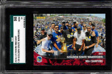 2016 Panini Instant Golden State Warriors SGC 98/ 10  Limited Print Run
