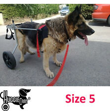 Huggiecart Dog Wheelchair All Sizes 8 Models 3 to 99 Lbs Ready to Ship Size 5 Large 70-99 Lbs
