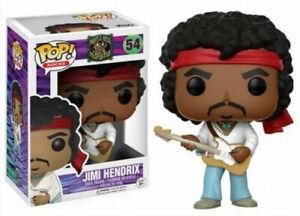 Funko Pop! Pop Rocks - Jimi Hendrix #54 Vinyl Figure - NEW