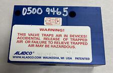 Aladco NU-CHECK 305001 Pneumatic Valve NOS