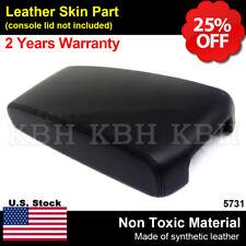 Fits 13 18 Nissan Altima Leather Center Console Lid Armrest Cover Black Fits Nissan