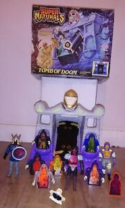 Supernaturals Tomb Of Doom, Ghost World Play Set Tonka - 1987, + Extras. No Key.