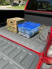 "Cargo Net Bed Tie Down Hooks for DODGE RAM Pickup Full Size Short Bed 66"" x 74"""