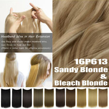 Top Secret Wire No Clip in Hair Extensions Invisible Thick Long As Human Piece A