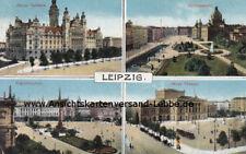 Leipzig - Neues Rathaus Neues Theater - 1914 Eutritzsch nach Opladen