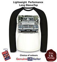 Triumph Herald Shirt, Long Sleeve T Shirt, Men's Top,