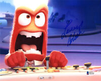 LEWIS BLACK SIGNED 8x10 PHOTO VOICE OF ANGER PIXAR INSIDE OUT BECKETT BAS