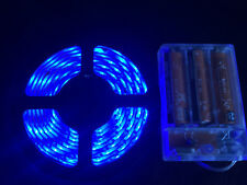 2m long, 120 BLUE LED, AA Battery Powered Waterproof LED Light Strip