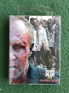 THE WALKING DEAD Playing Cards SEALED Cardinal Brand Merrell Zombie AMC TWD