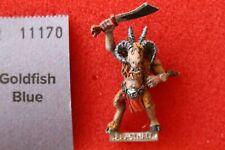 Juegos taller Warhammer Beastmen Bestigor Metal Beastman Gor Beastman GW A1
