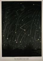 Etienne Leopold Trouvelot: The November Meteors. Fine Art Print/Poster