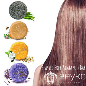 Eeyko Eco-Friendly Shampoo Bars - Plastic Free Vegan Zero Waste