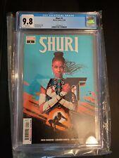Shuri #1 (Marvel Comics 12/18) Graded CGC 9.8 (Black Panther) Nnedi Orkorafor