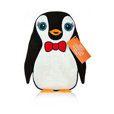 NPW HOT CHICKS HOT WATER BOTTLE BOW TIE PENGUIN COSY COVER size 750ml NP8606