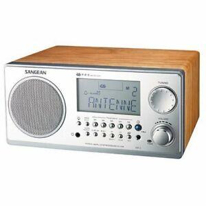Sangean Wr-2 Digital Am/fm Table Top Radio - 5 X Am, 5 X Fm (wr2wl) (wr-2walnut)