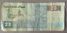 Old Egypt  20 pounds  banknote