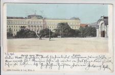 AK Wien I, Technik, Stadtbahn-Haltestelle, 1904