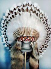Native American Guardian War Bonnet Feather Headdress