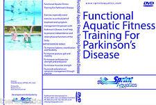 Functional Aquatic Fitness Training For Parkinson's Disease Pool DVD Swim Class