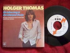 Holger Thomas - Ein Leben lang in den Liverpool Docks    rare CBS Blitzinfo 45