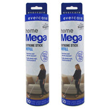 Evercare Home Mega Extreme Stick Refill, 2 pack of 50 Sheets each