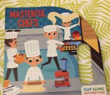 Masterful Chefs( Play Along With Everypage ) Kids Book Age 2-4 For Boys
