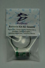 BATTERIA-Kit per Suunto favor LUX (S), Solution (Alfa (nitrox)), Fusion LUX S