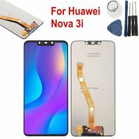 For Huawei Nova 3i Black LCD + Touch Screen Display Digitizer Replacement Parts