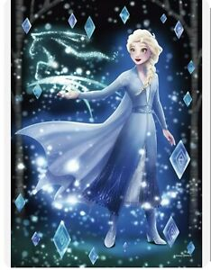 Tenyo Jigsaw Puzzle Frozen the Secret of Sparkling Magic Elsa Stained Art 266pc