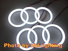 6pc LED SMD Cotton White 6000K Angel Eyes kit Halo ring Light For Alfa Romeo 159