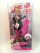 I CAN BE FASHION DESIGNER Career of the Year 2012 Barbie DOLL ~Collector~ NEW