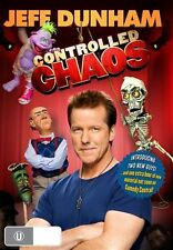 Jeff Dunham - Controlled Chaos (DVD, 2011) Brand New Region 4
