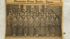 Sturgis High School KY Class of 1930 Photo With IDs in 1969 Newspaper Clipping