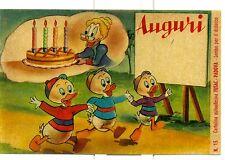 """DISNEY Cartolina autoadesiva FUSAC - PADOVA n. 15 """"Nonna Papera e Qui Quo Qua"""""""