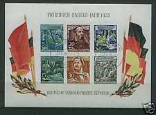DDR 1955 Block 13 Tagesstempel feinst KW=180,- EUR