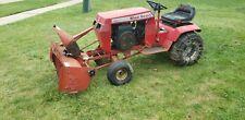 Vintage Toro wheel horse 310-8 snow blower garden tractor READ DESCRIPTION