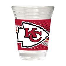 e3049586 Kansas City Chiefs Party Shot Glass Team Graphics 2oz.